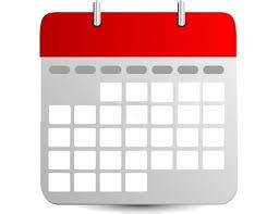 cliquez pour atteindre le calendrier